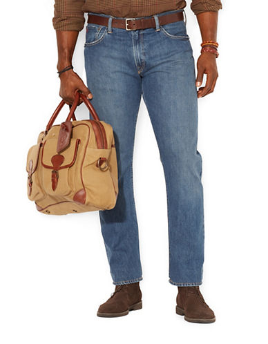Polo Ralph Lauren Big and Tall Classic Fit Stanton Jean-BLUE-46X34