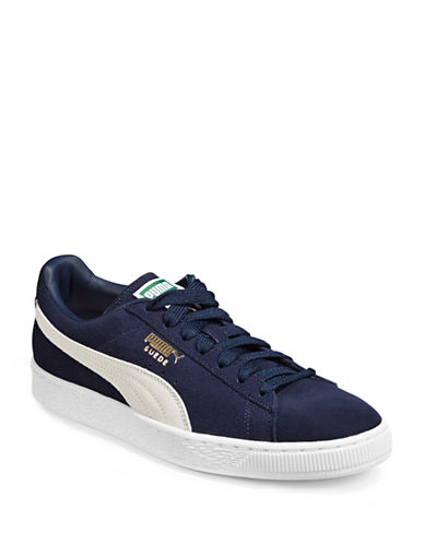 Puma Suede Classic Plus Sneakers-BLUE-10.5