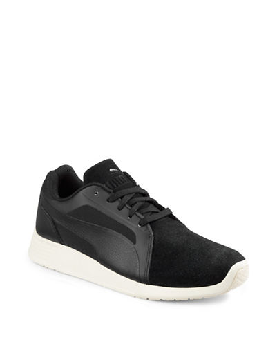Puma Trainer Evo SD Sneakers-BLACK-8 88217655_BLACK_8