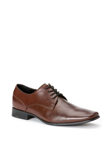 Calvin Klein Brodie Medium Brown Dress Shoes-MEDIUM BROWN-9.5