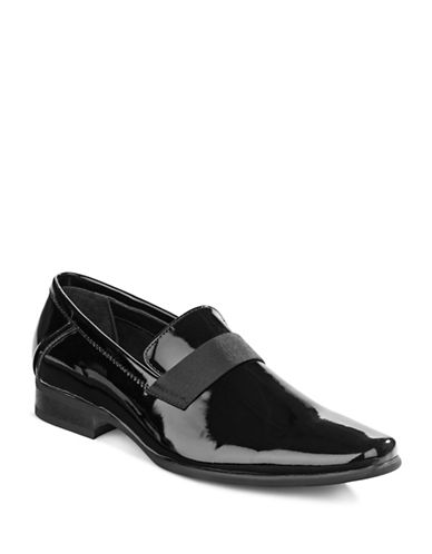 Calvin Klein Bernard Slip-On Dress Shoes-BLACK-8