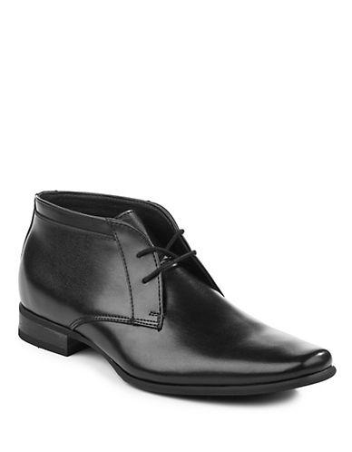 Calvin Klein Desert Style Oxford Shoe-BLACK-12