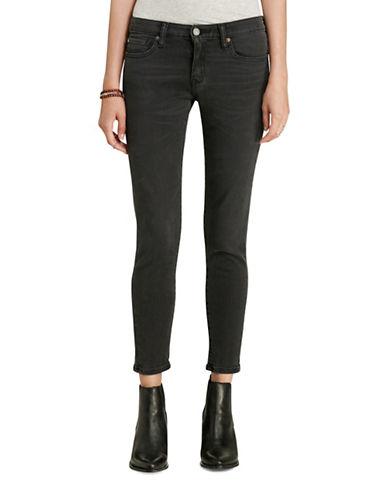 Denim & Supply Ralph Lauren Alton Cropped Skinny Jeans-BLACK-24 88879712_BLACK_24