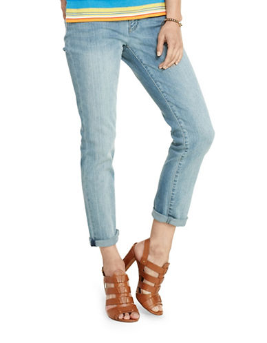 Lauren Ralph Lauren Cropped Premier Stretch Jeans-BLUE-6 88364601_BLUE_6