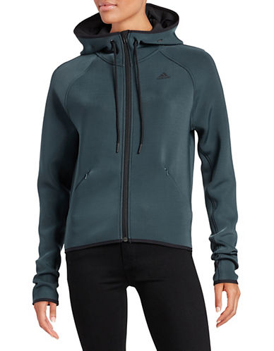 Adidas Climalite Scuba Kit Hoodie-GREY-Large 87954694_GREY_Large