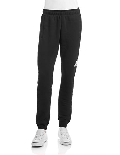 Adidas Logo Jogger Pants-BLACK-Medium 87677545_BLACK_Medium
