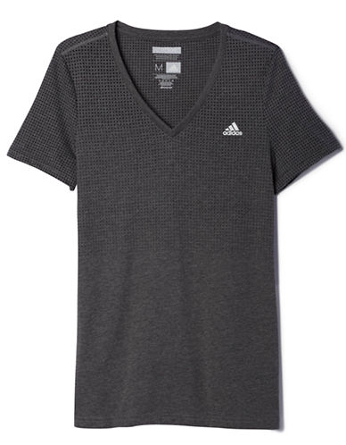 Adidas Aeroknit Performance Tee-GREY-Large 87668838_GREY_Large