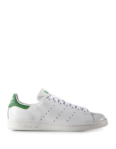 Adidas Womens Stan Smith Sneakers-WHITE-7.5
