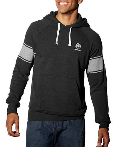 Reebok Varsity Stripe Hoodie-BLACK-XX-Large 87946998_BLACK_XX-Large