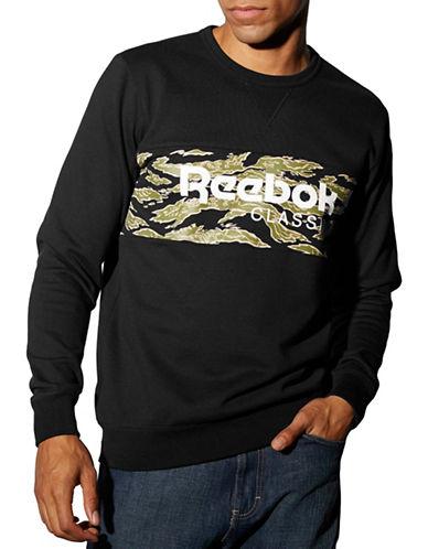 Reebok Camo Graphic Sweatshirt-BLACK-X-Large 87812607_BLACK_X-Large