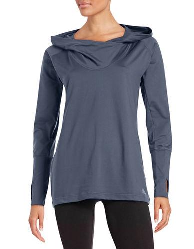 Adidas Hooded Tunic Sweater-GREY-Large 87668848_GREY_Large