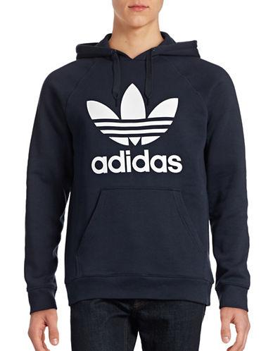 Adidas Original Trefoil Hoodie-BLUE-Large 88424403_BLUE_Large