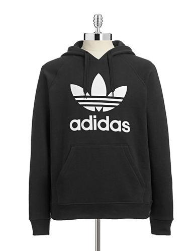 Adidas Originals Trefoil Hoodie-BLACK-Large 87677626_BLACK_Large