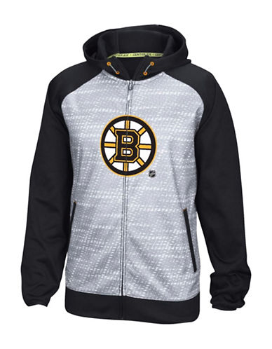 Reebok Boston Bruins TNT Full-Zip Jacket-BLACK-XX-Large