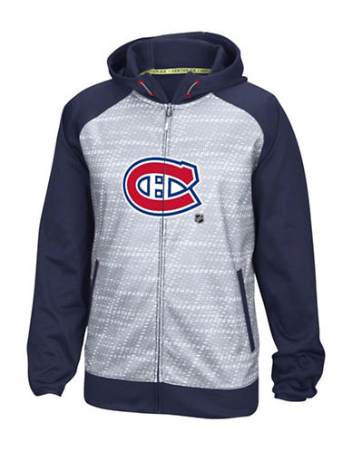 Reebok Montreal Canadiens TNT Full-Zip Jacket-TRUE NAVY-Small