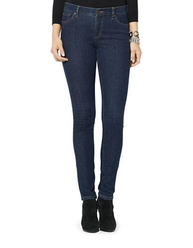 Lauren Ralph Lauren Petite Super Stretch Slimming Modern Skinny Jean-BLUE-Petite 10