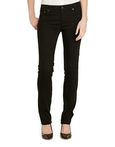 Lauren Ralph Lauren Slimming Modern Curvy Jeans-BLACK-2 88864756_BLACK_2
