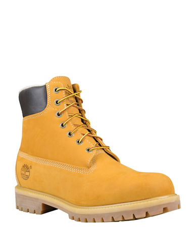 Timberland Heritage Icon Warm Lined Leather Boots-WHEAT-9