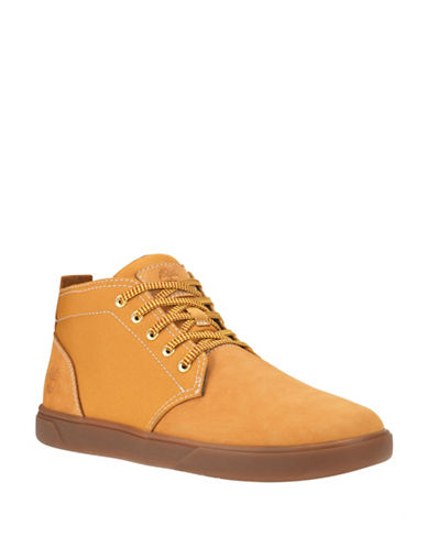 Timberland Groveton Chukka Shoes-WHEAT-8.5