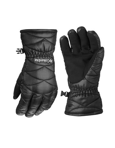 Columbia Mighty Lite Touchscreen Gloves-BLACK-Large