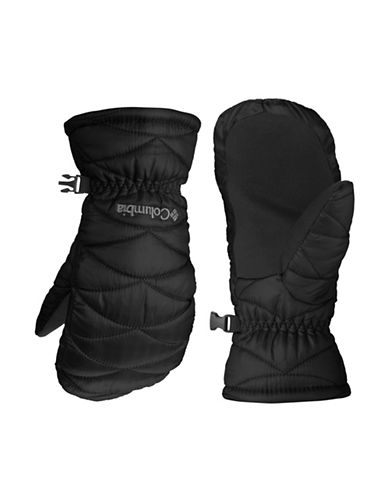 Columbia Mighty Lite Mittens-BLACK-Large