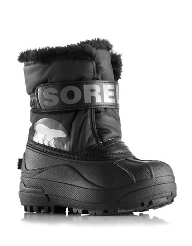 Sorel Snow Commander Winter Boots-BLACK-9