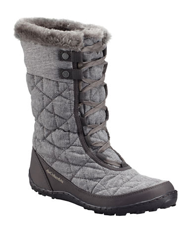Columbia Minx Omni-Heat Boots-GREY-5