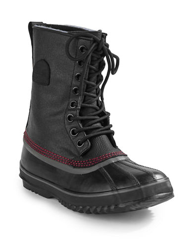 Sorel Waterproof Winter Insulated Boots-BLACK-12