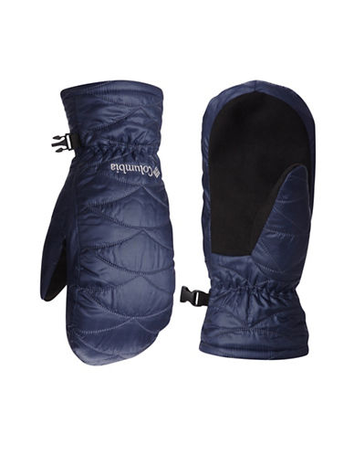 Columbia Mighty Lite Mittens-BLUE-Large