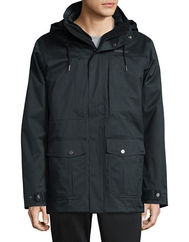 Columbia Double Layered Jacket-BLACK-X-Large