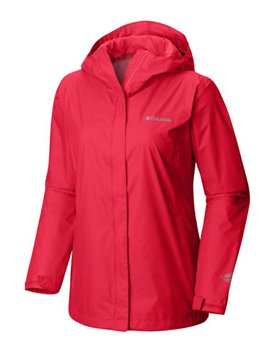 Columbia Arcadia II Jacket-RED-Small