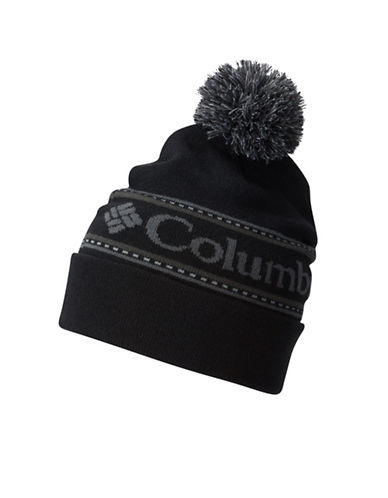 Columbia Intarsia Beanie-BLACK-One Size