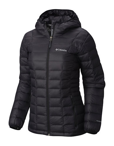 Columbia Voodoo Falls 590 TurboDown Jacket-BLACK-Small