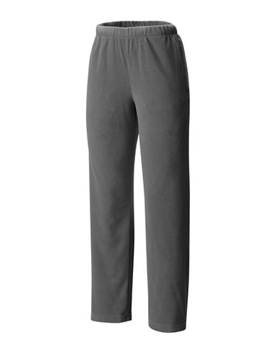 Columbia Pull-On Fleece Pants-GREY-Medium
