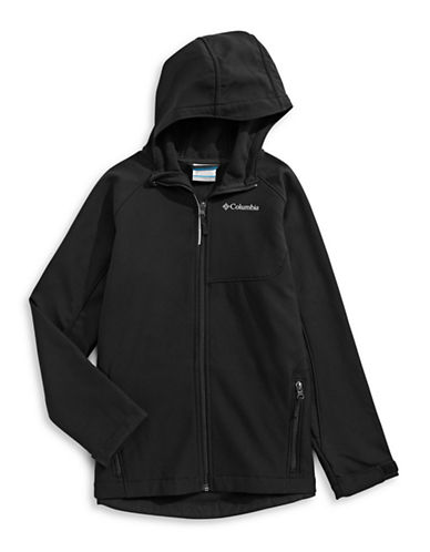 Columbia Fleece Jacket-BLACK-X-Small