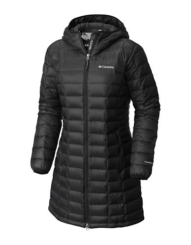 Columbia Voodoo Falls 590 TurboDown Mid Jacket-BLACK-Small