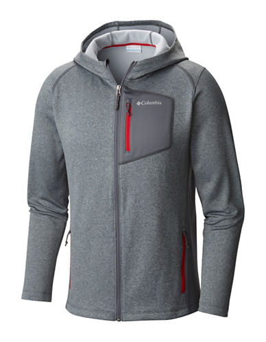 Columbia Jackson Creek Hoodie-GREY-Large