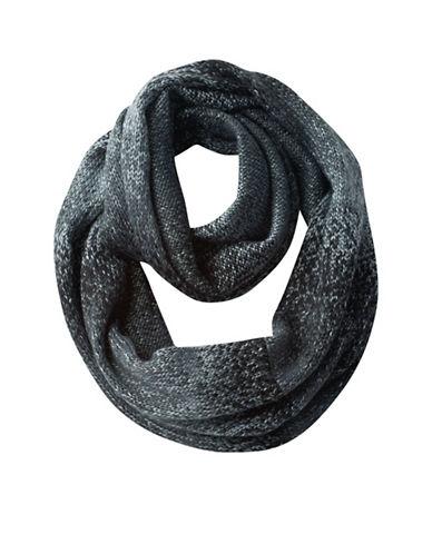 Columbia Rocky Range Infinity Scarf-BLACK-One Size