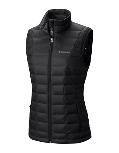 Columbia Voodoo Falls 590 TurboDown Vest-BLACK-Small