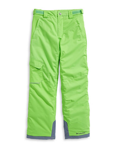 Columbia Bugaboo Waterproof Pants-GREEN-Large