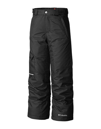 Columbia Waterproof Snow Pants-BLACK-Medium