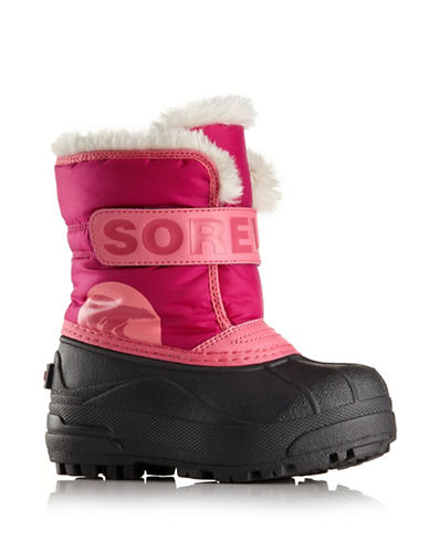 Sorel Snow Commander Winter Boots-RED-10