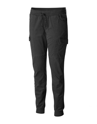 Columbia Teton Trail II Skinny Cargo Pants-BLACK-X-Small