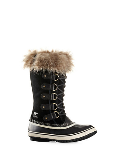 Sorel Joan of Arctic Boots-BLACK-8.5