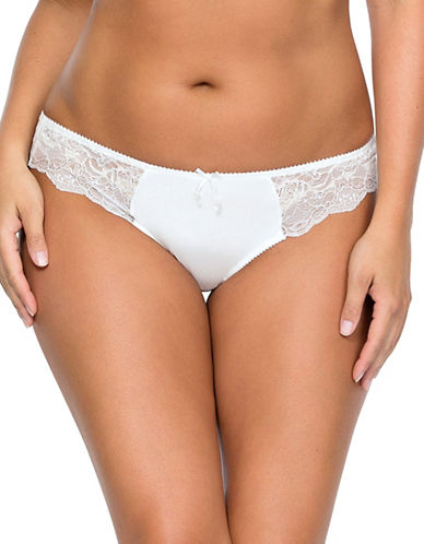 Parfait Elissa Brazilian Thong-PEARL WHITE-Medium