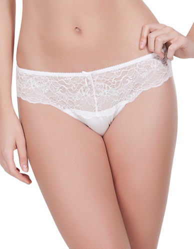 Parfait Elissa Bikini Bottom-PEARL WHITE-Large