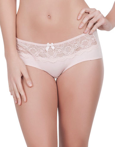 Parfait Carole Lace Hipster-BEIGE-Medium
