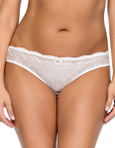 Parfait Lucie Geometric Lace Brief-BARELY PINK-X-Large