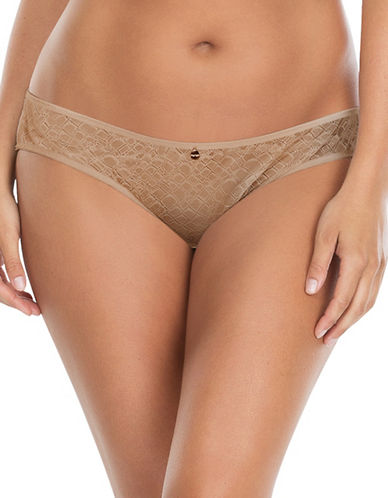 Parfait Two-Piece Enora Jacquard Lace Bikini-EUROPEAN NUDE-X-Large