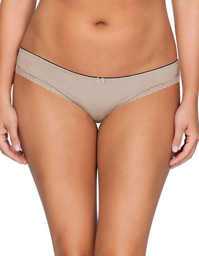 Parfait So Lovely Bikini Bottoms-BEIGE-4X
